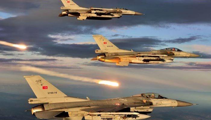 Irak'ın kuzeyine hava harekatı! Çok sayıda terörist...
