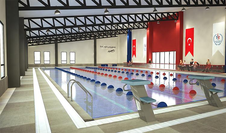 Eyüpsultan'ın ilk havuzu açıldı