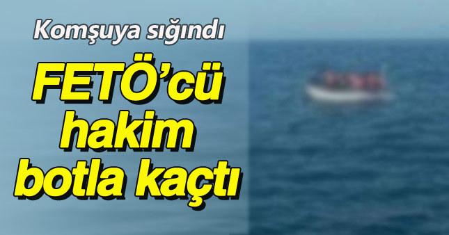 FETÖ'cü hakim botla Yunanistan'a kaçtı