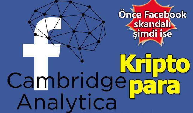 Facebook skandalını yaratan Cambridge Analytica'nın kripto parası varmış