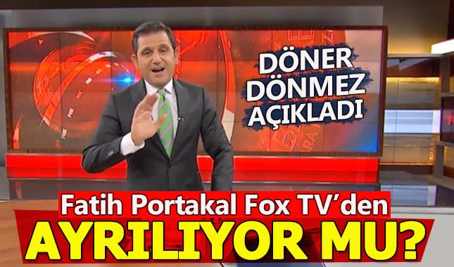 Fatih Portakal açıkladı! Fox TV'den ayrılıyor mu?