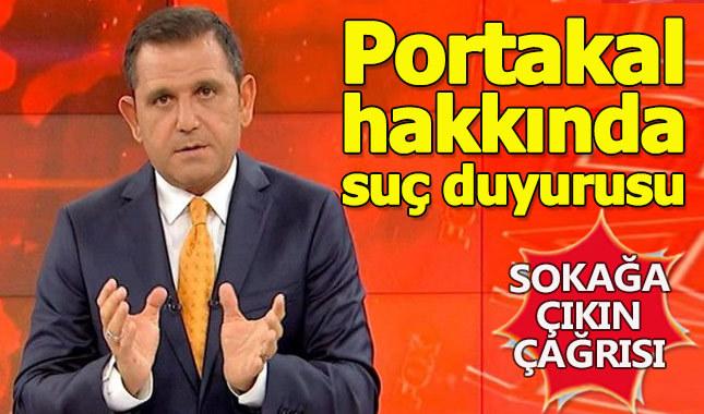 Fatih Portakal hakkında suç duyurusunda bulunuldu