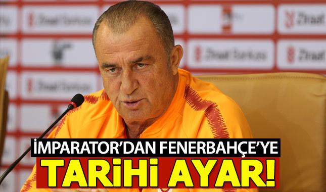 Fatih Terim'den Fenerbahçe'ye tarihi ayar