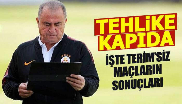 Fatih Terim'siz Galatasaray zorlanıyor