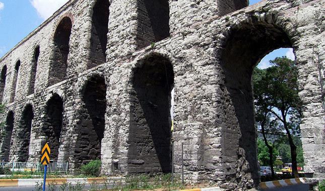 Fatih'teki tarihi su kemeri restore ediliyor!
