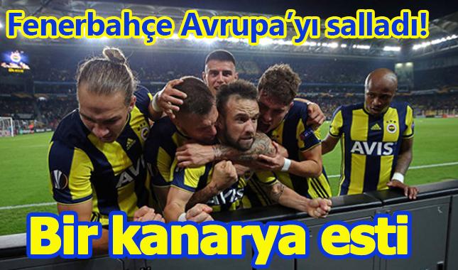 Fenerbahçe 2 - 0 Anderlect maçı özeti golleri izle