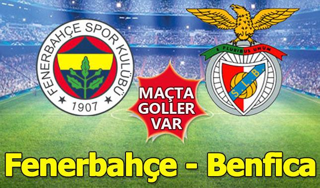 Fenerbahçe Benfica karşısında tur için sahada