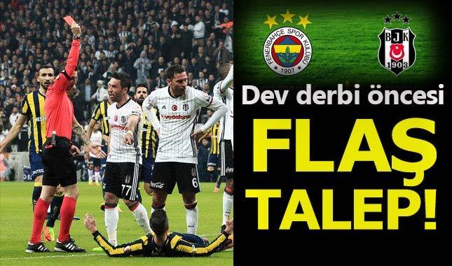 Fenerbahçe-Beşiktaş derbisi öncesi 'yabancı hakem' talebi