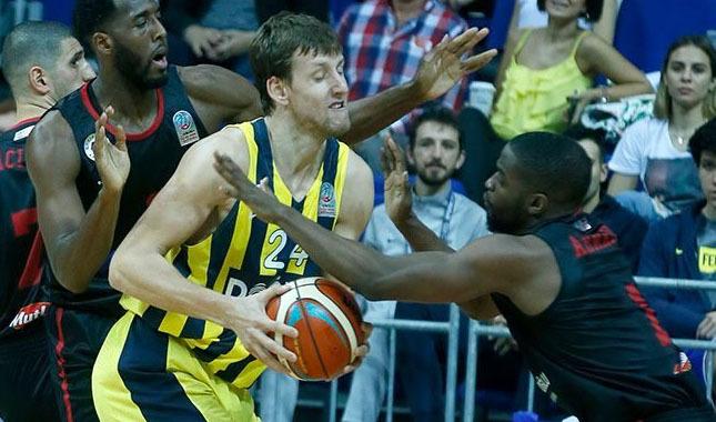Fenerbahçe Doğuş: 96 - Gaziantep Basketbol: 71 özet