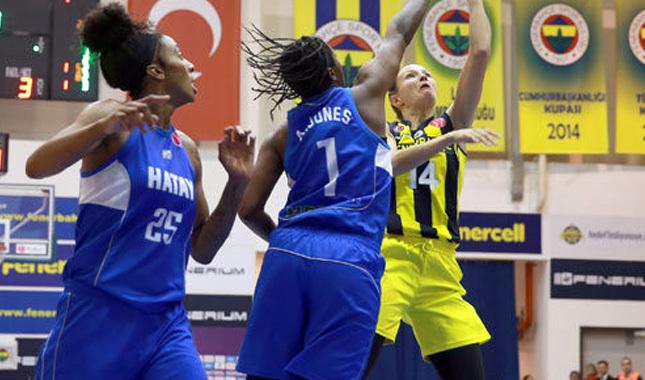 Fenerbahçe, Hatay'ı mağlup etti
