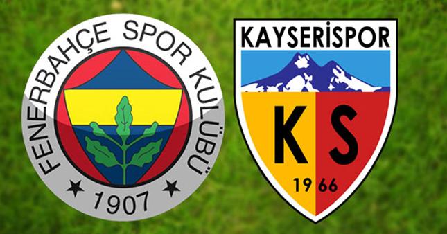 Fenerbahçe Kayserispor Türkiye Kupası maçı ne zaman, saat kaçta?