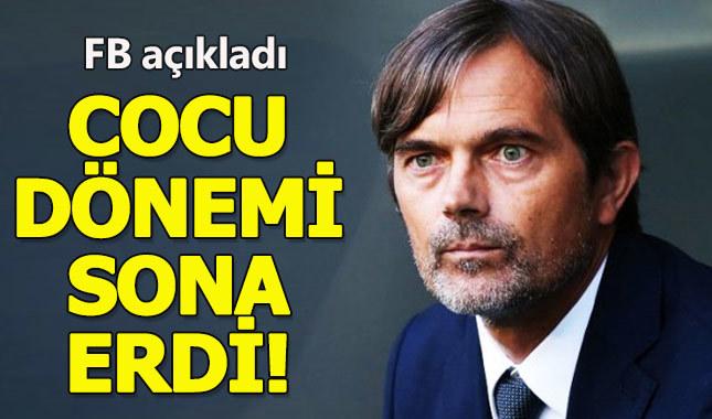 Fenerbahçe, Phillip Cocu'nun sözleşmesini feshetti