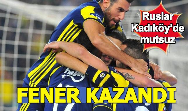 Fenerbahçe - Zenit maç özeti ve golleri