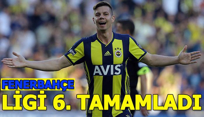 Fenerbahçe 6. oldu | Fenerbahçe 3-1 Antalyaspor maç özeti