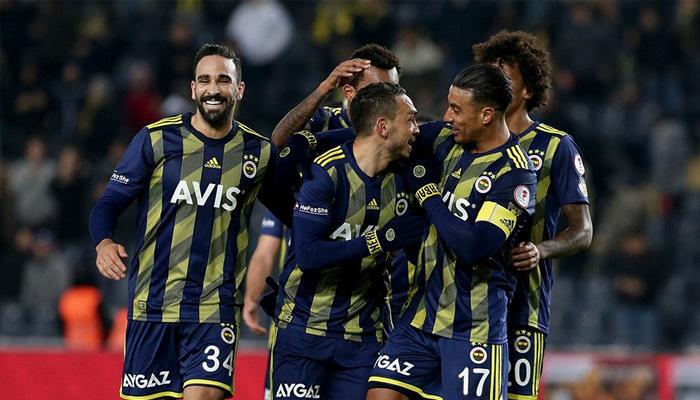 Fenerbahçe kupada tur atladı