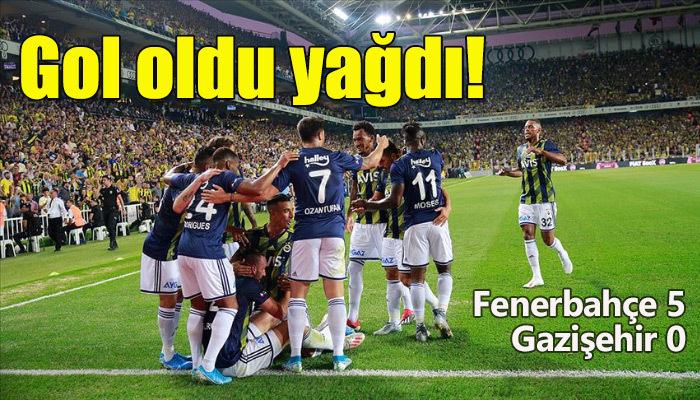 Fenerbahçe lige fırtına gibi başladı!