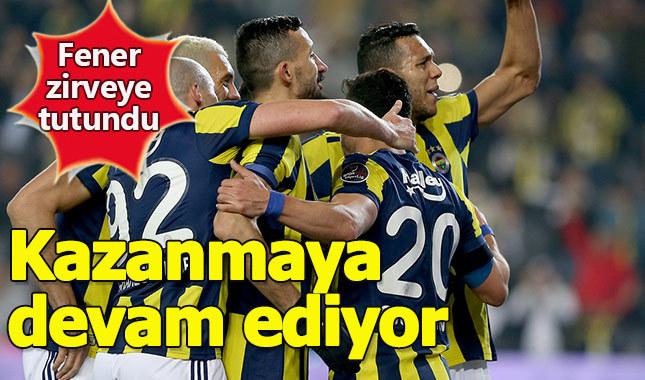 Fenerbahçe zirveye oynuyor