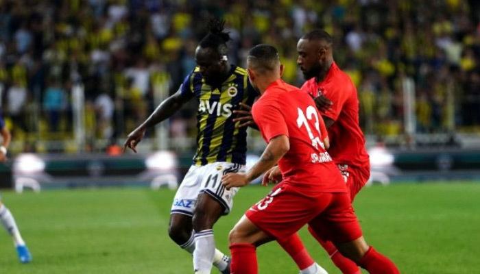 Fenerbahçe'nin ilk golü Moses'tan geldi