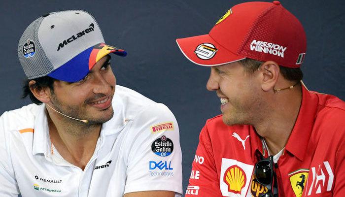Ferrari Sebastian Vettel'in yerine Carlos Sainz'ı getirdi