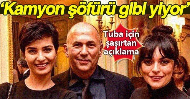 Ferzan Özpetek'ten Tuba Büyüküstün'e ilginç benzetme!