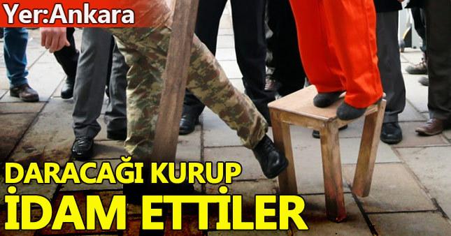 Fethullah Gülen Ankara'da temsili olarak idam edildi