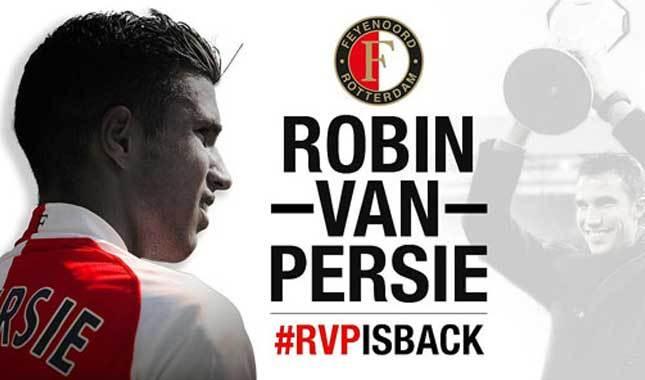 Feyenoord, Van Persie'yi transfer etti