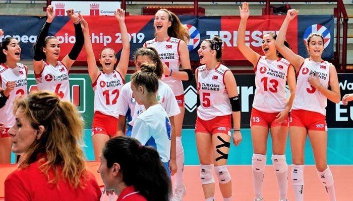 Filenin 'Genç' Sultanları Avrupa Şampiyonu oldu