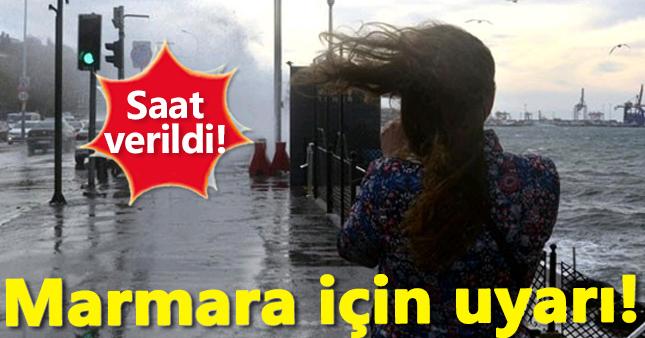 Fırtına Marmara'yı esir alacak