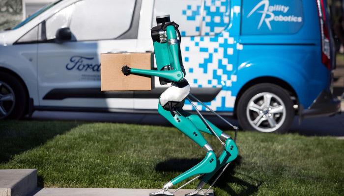 Ford'dan postacı robot geliyor