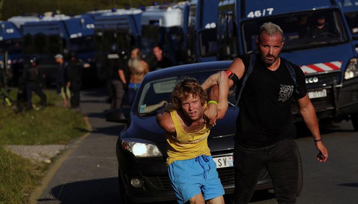 Fransa'da G7 öncesi protesto! 17 gözlatı 4 yaralı