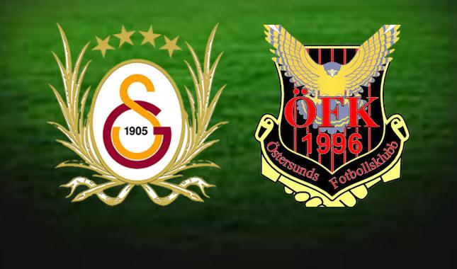 Galatasaray - Östersunds maçı ne zaman, hangi kanalda, Galatasaray nasıl tur atlar