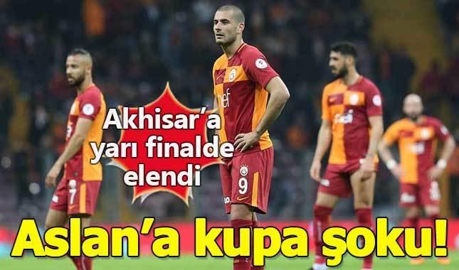 Galatasaray 0-2 Akhisarspor Maçın Özet Görüntüleri (Ziraat Türkiye Kupası rövanş maçı)