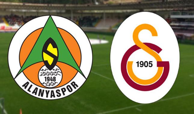 Galatasaray - Alanyaspor ilk 11'ler belli oldu