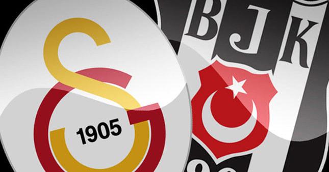 Galatasaray-Beşiktaş ilk 11'ler belli oldu