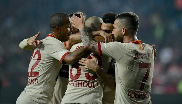 Galatasaray, Gaziantep'te moral buldu