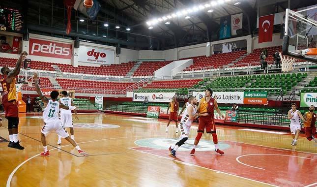 Galatasaray, Karşıyaka'yı devirdi