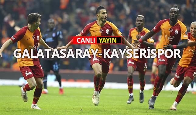 Galatasaray-Kayserispor maçı canlı izle? Bein Sports HD 1 izle | Justin Tv izle