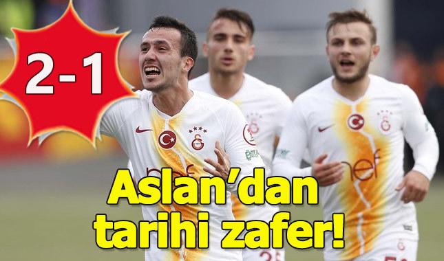 Galatasaray, Keçiörengücü'nü rahat geçti