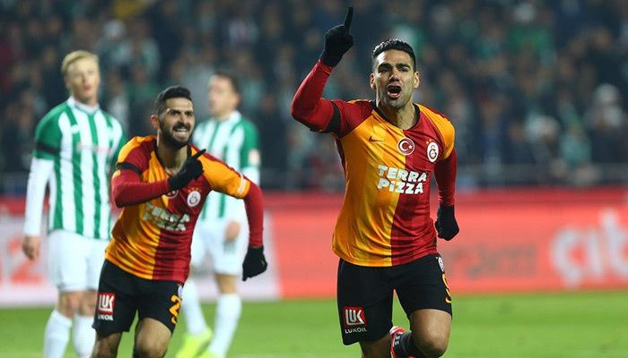 Galatasaray Konya'da şov yaptı! 3-0