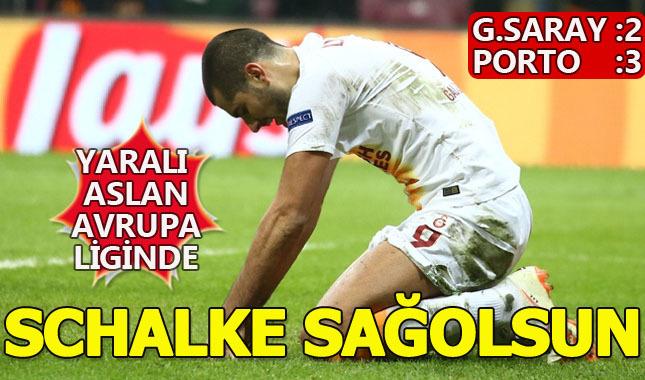 Galatasaray Porto'ya evinde 3-2 Yenildi (Maçın geniş özeti)