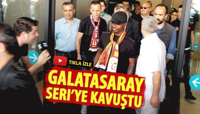 Galatasaray Seri'ye kavuştu