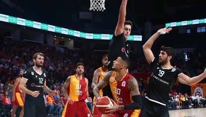 Galatasaray derbide Beşiktaş'ı devirdi