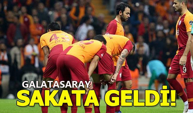 Galatasaray evinde 16 hafta sonunda puan kaybetti | Galatasaray Bursaspor maçı geniş özet