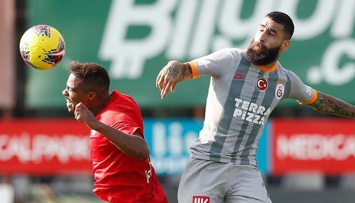 Galatasaray hazırlık maçında fark attı