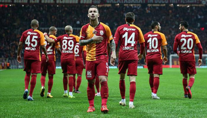 Galatasaray ikinci yarılarda coşuyor