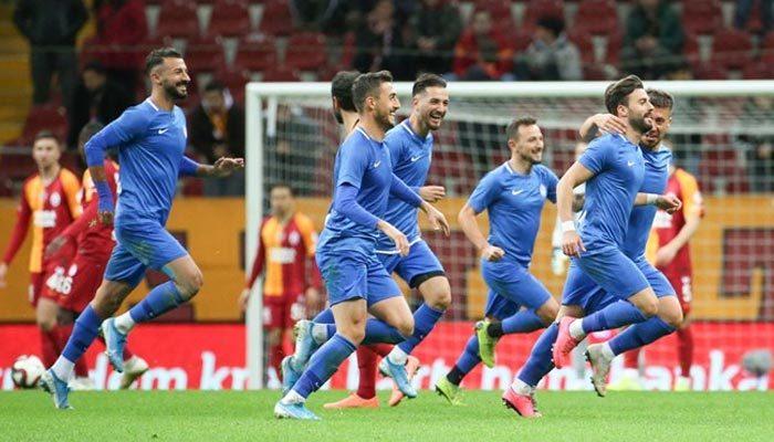Galatasaray kupada 'Tuzla' buz oldu