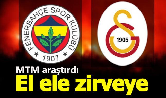 Galatasaray ve Fenerbahçe medyanın zirvesinde el ele!