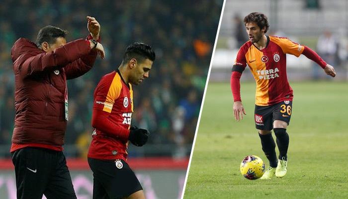 Galatasaray'a Falcao ve Sarachi'den kötü haber!