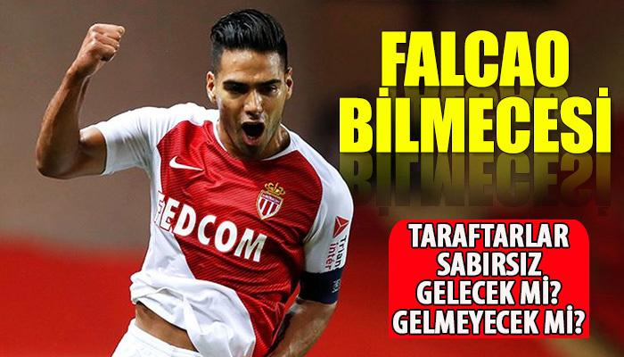 Galatasaray'da Falcao bilmecesi