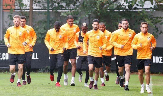 Galatasaray'da lig mesaisine başladı